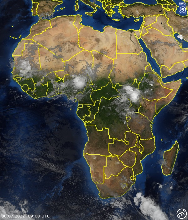 Satellite Image Africa