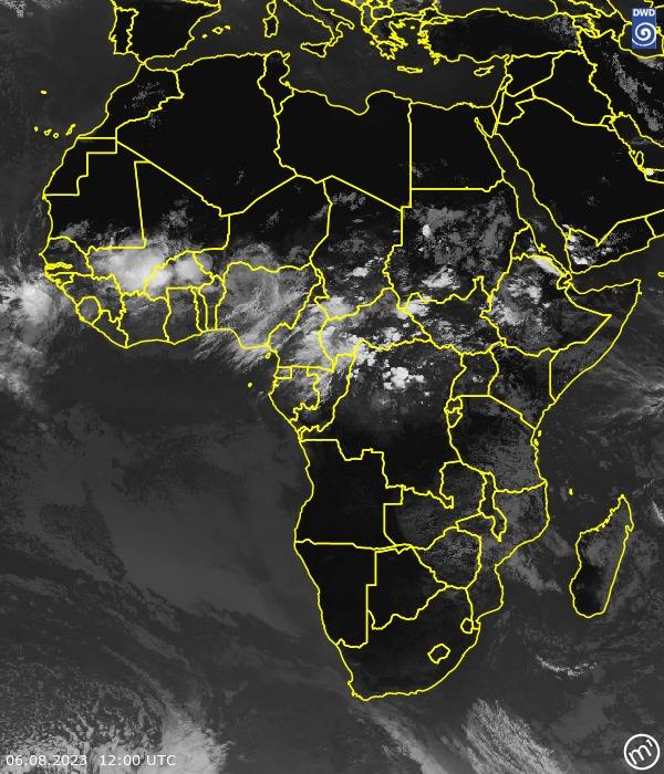Satellitenbild Africa