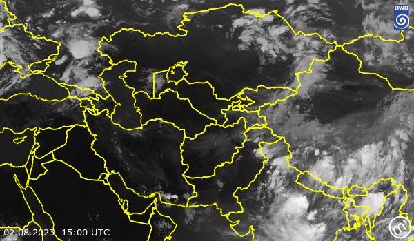 Satellitenbild Central Asia