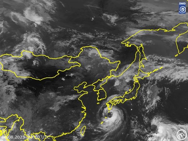 Satellitenbild East Asia
