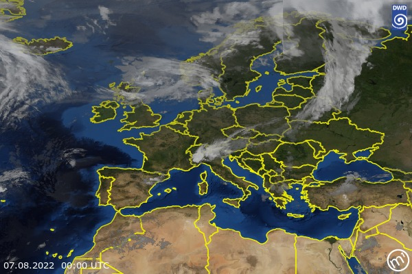 Satellite Image Europe