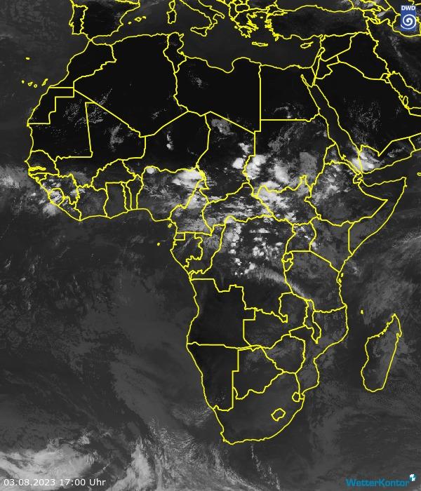 Satellitenbild Afrika