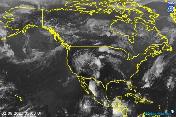 Satellitenbild Nordamerika
