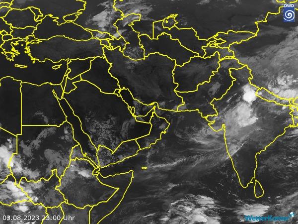 Satellitenbild Westasien