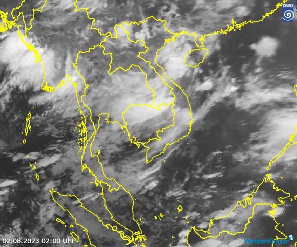 Satellitenbild der Region